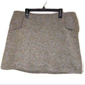 Urban Outfitters Ecoté Faux Fur Skirt Size 12
